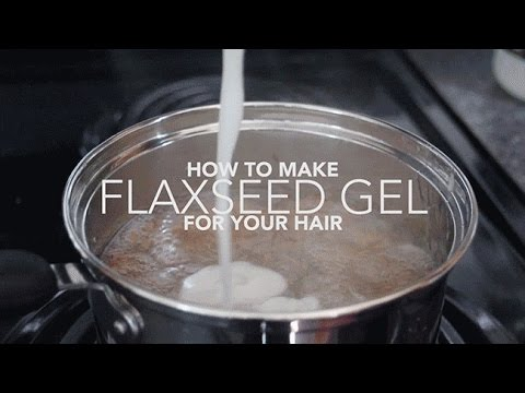 DIY Flax seed Gel and Its Benefits on the Hair by Bhavna