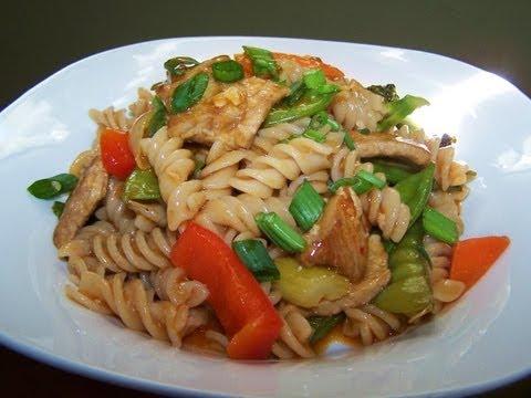 Asian Pork and Noodle Skillet