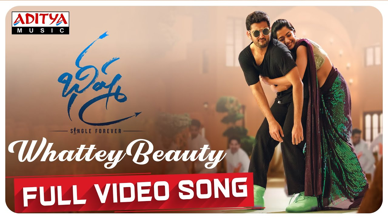 Whattey Beauty Full Video Song | Bheeshma Video Songs | Nithiin, Rashmika | Mahati Swara Sagar