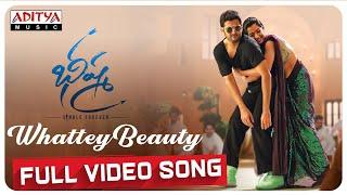 Whattey Beauty Full Video Song | Bheeshma Video Songs | Nithiin, Rashmika | Mahati Swara Sagar
