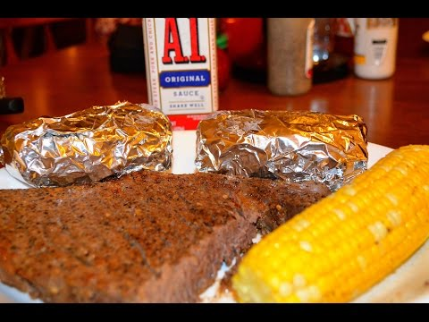 How To Make a Complete Meal in Your NuWave Oven - Steak, Potatoes and Corn