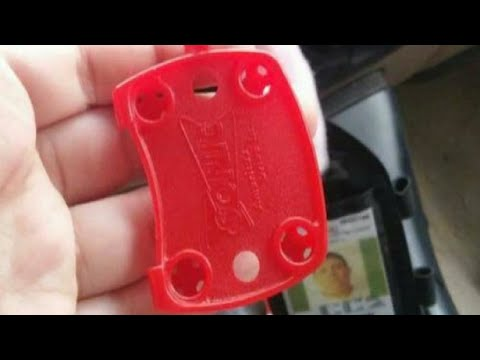 Sonic Drive-In Red Tray Keychain Promotion