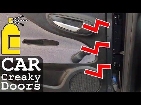 Car Door Creaky Squeaky | How to Fix