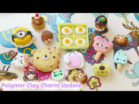 Polymer Clay Charm Update #33