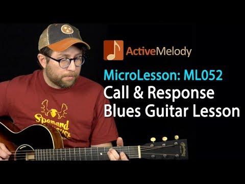 Easy Blues Guitar Lesson - Learn an Easy