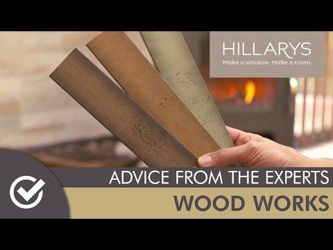 Wood Works - Hillarys New Wood Venetian Range