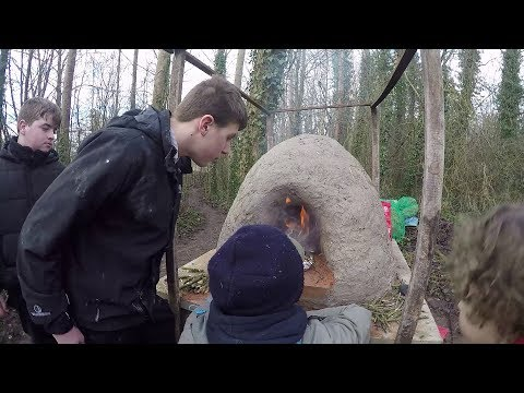 Making Of an Awesome Clay Pizza Oven