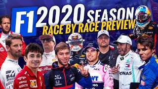 2020 FORMULA 1 SEASON PREVIEW - ALL 22 RACES