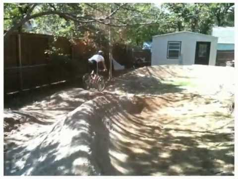 Backyard Pump Track - Big Fun, Awesome Exercise