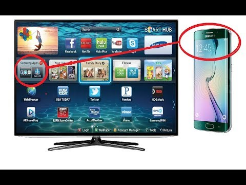 SCREEN MIRRORING ON SAMSUNG SMART TV TUTORIAL