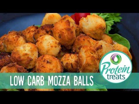 Fried Appetizer Gluten Free Mozza Balls - Protein Treats by Nutracelle