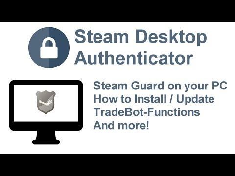 Steam Desktop Authenticator - [SDA COMPLETE GUIDE]
