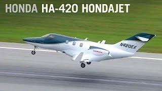 Flying the New HondaJet – AINtv