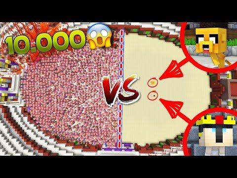 ¡10.000 ZOMBIES PIGMAN VS MIKELLINO! 😱 ¡ATRAPADOS EN EL NETHER! | #HORADEMIKELLINO EPISODIO 6