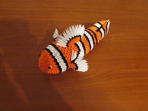 3D Origami Nemo Tutorial