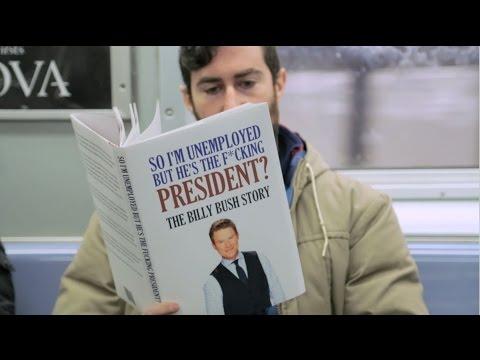 Fake Books on Subway: UNPRESIDENTED EDITION