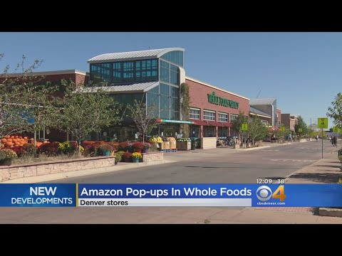 Amazon To Set Up Pop Ups In Whole Foods