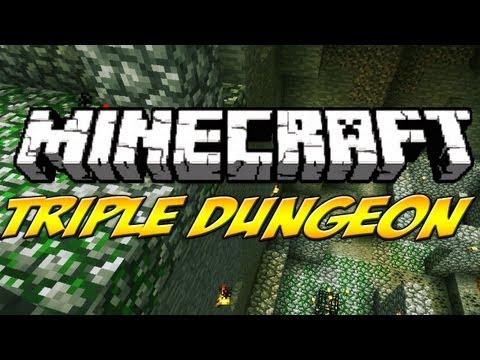 Minecraft- TRIPLE DUNGEON SEED - Badinfos