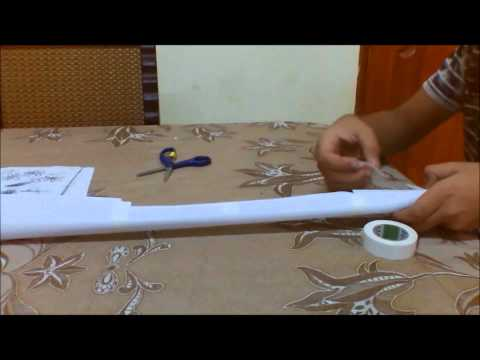 How to make a paper M-16 A2 part 1
