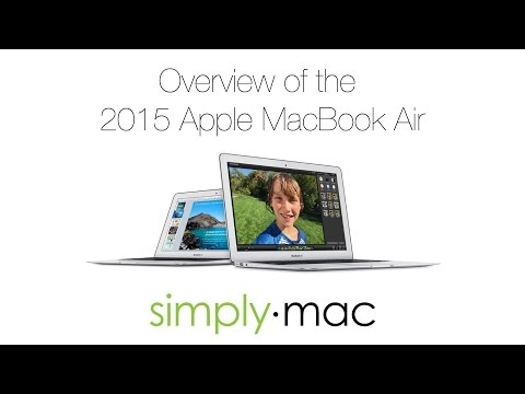 2015 Apple MacBook Air Overview