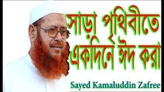 সাড়া পৃথিবীতে একদিনে ঈদ করা ! Sayed Kamaluddin Zafree