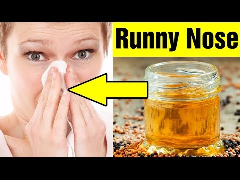 Top 8 Home Remedies for a Runny Nose|How to Stop Runny Nose Fast