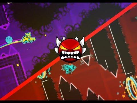 Top 5 Hardest Pre 1.9 Demons - Geometry Dash