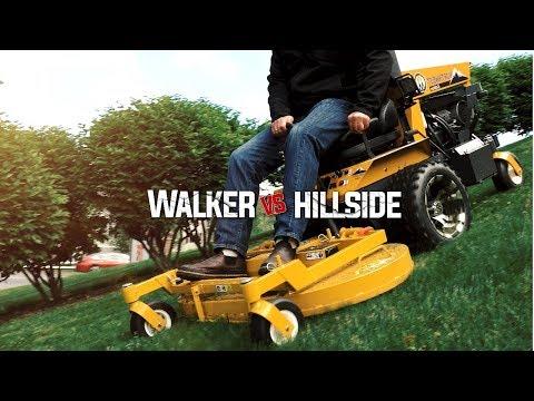 Walker B23i vs. Steep Hillside - Can It Handle It?