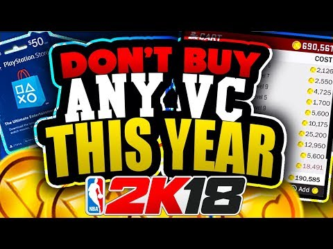 DON'T BUY ANY VC FOR NBA 2K18 UNTIL YOU WATCH THIS!! DONT WASTE YOUR MONEY!!
