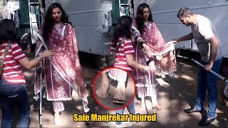 OMG! What Happened to Saie Manjrekar 😲😲😲   Salman Khan costar Can't Walk   Dabangg 3