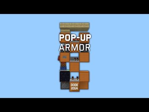 Redstone: Pop-Up Armor Stand [Tutorial]