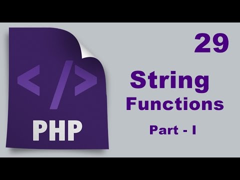 Php Tutorials in Urdu - 29 - String Functions - Part I (Words Counting)