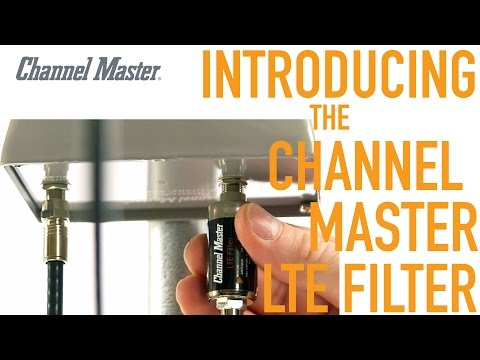 Channel Master | How the LTE Filter Improves TV Antenna Reception