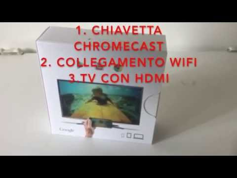 Collegare Smartphone,Tablet o iPad alla TV con Chromecast