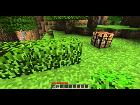Minecraft Tutorial - How to make/use Shears II Wie man Scheren macht [HD]