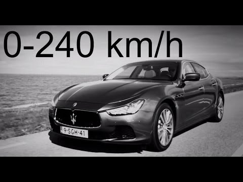 Maserati Ghibli S 0-240 km/h