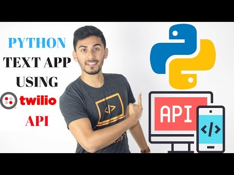 How to Create a Python Texting App Using Twilio API