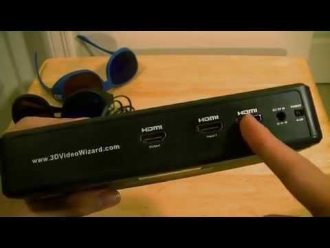 3D Video Wizard (2D to 3D Converter Box) First Look: