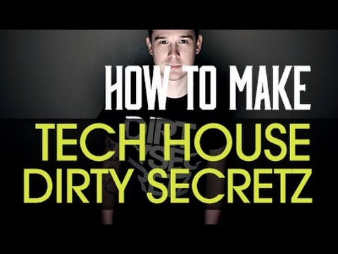 Tech House 2014 with Dirty Secretz in Ableton Live 9 - Bass