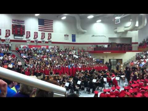CGHS Choir at 2014 Graduation