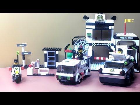 Lego Videos for Kids - Lego Super Police Station Easy Build