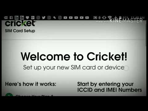 How To Activate Any Cricket Wireless Phone Or BYOD From Home Save $25 Step by Step Tutorial MTR