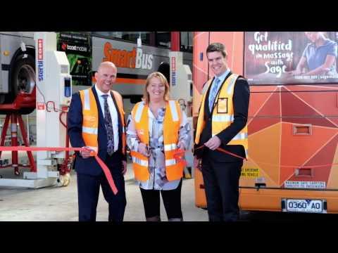 Transdev Melbourne Heatherton Depot opening