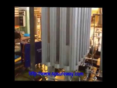 Cryogenic Liquid Oxygen Nitrogen Argon Pump and Vaporizer Gas Cylinder Filling Station