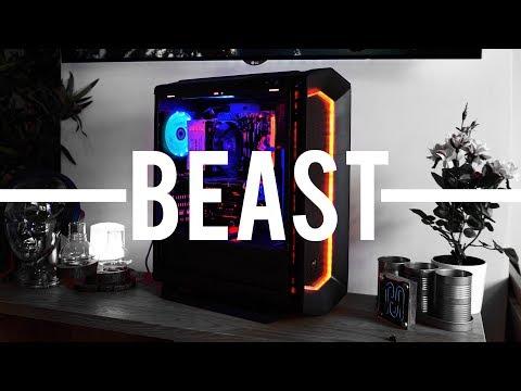 BEAST CUSTOM GAMING PC! (Gladiator Aorus Hunter)