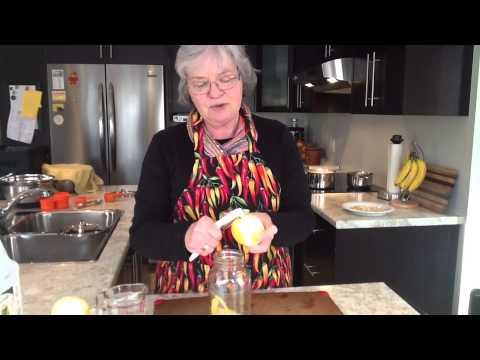 How To Make Lemon Vinegar