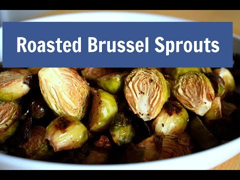Roasted Brussel Sprouts w/ Garlic Lime Vinaigrette|Solo Budget-Vegan