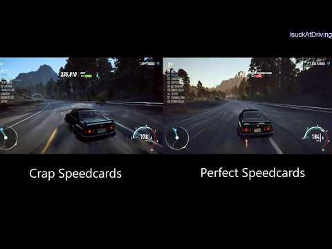 NFS Payback - Crap Speedcards vs Perfect Speedcards Comparison | Pay 2 Progress Microtransaction