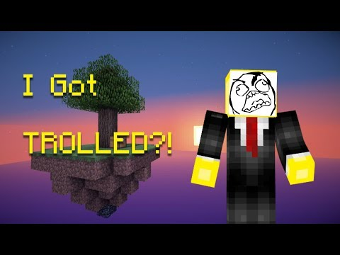 I GOT TROLLED?! | Minecraft Skywars EP.1 | MrSlimeGuy