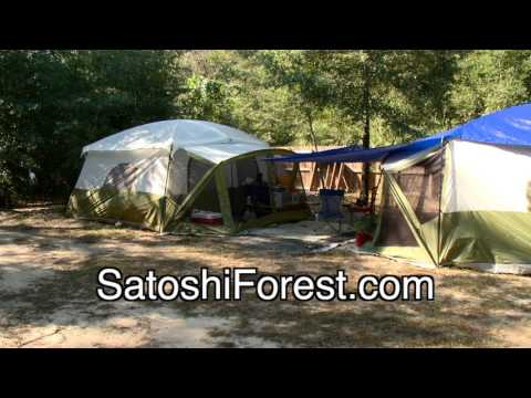 Satoshi Forest - A Private, Non-Profit Homeless Camp in Pensacola, FL